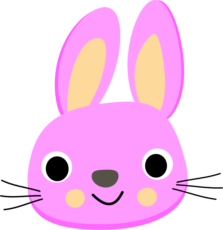 Free Pink rabbit - Lapin rose