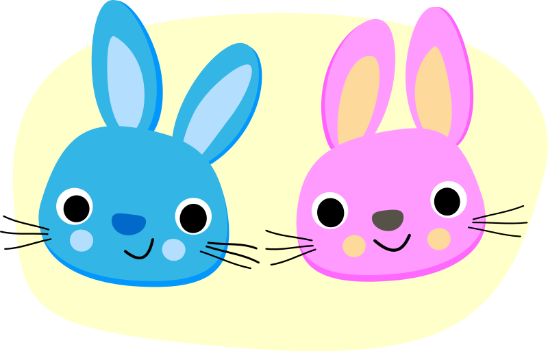 Free Clipart: Rabbits | bf5man