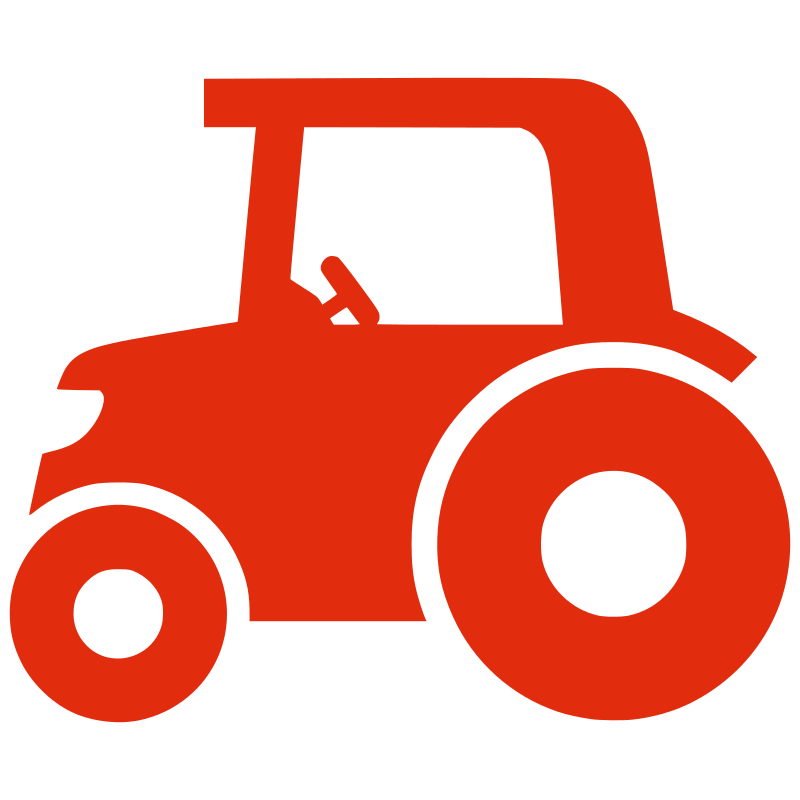 Free Silhouette tractor