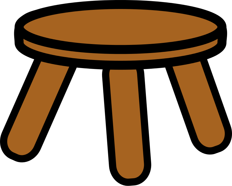 Free wooden stool