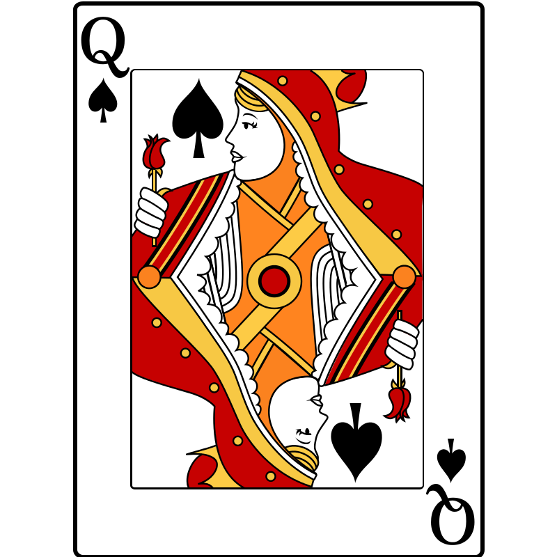 Free Queen of Spades