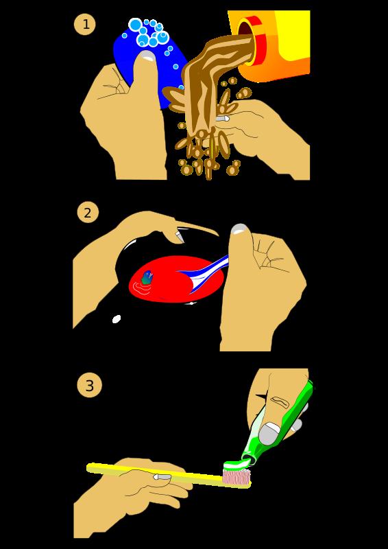 Free Clipart: Hygiene | Animals