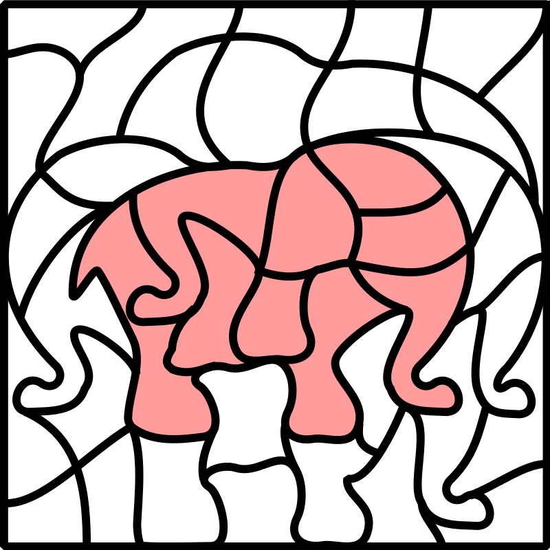 Free solution image elefant