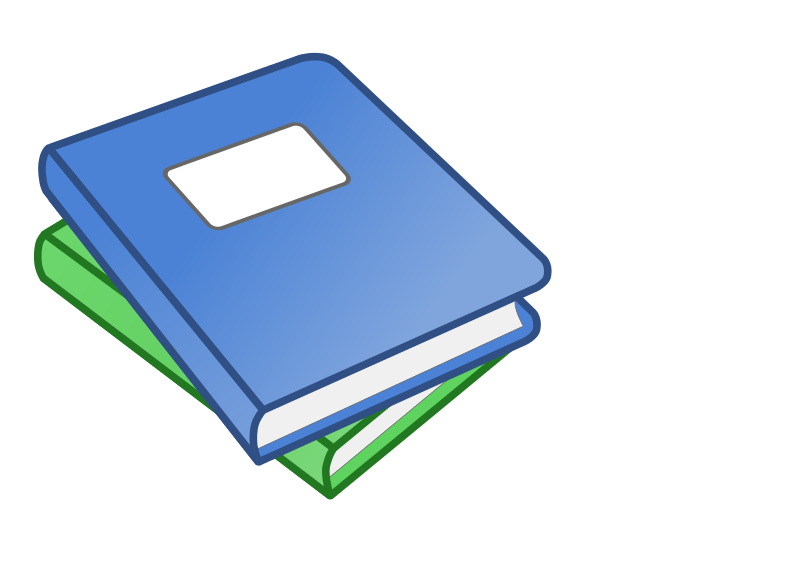 Free Stack of two books