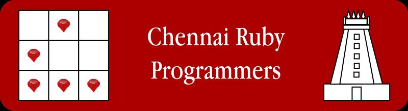 Free Chennai Ruby Programmers Logo