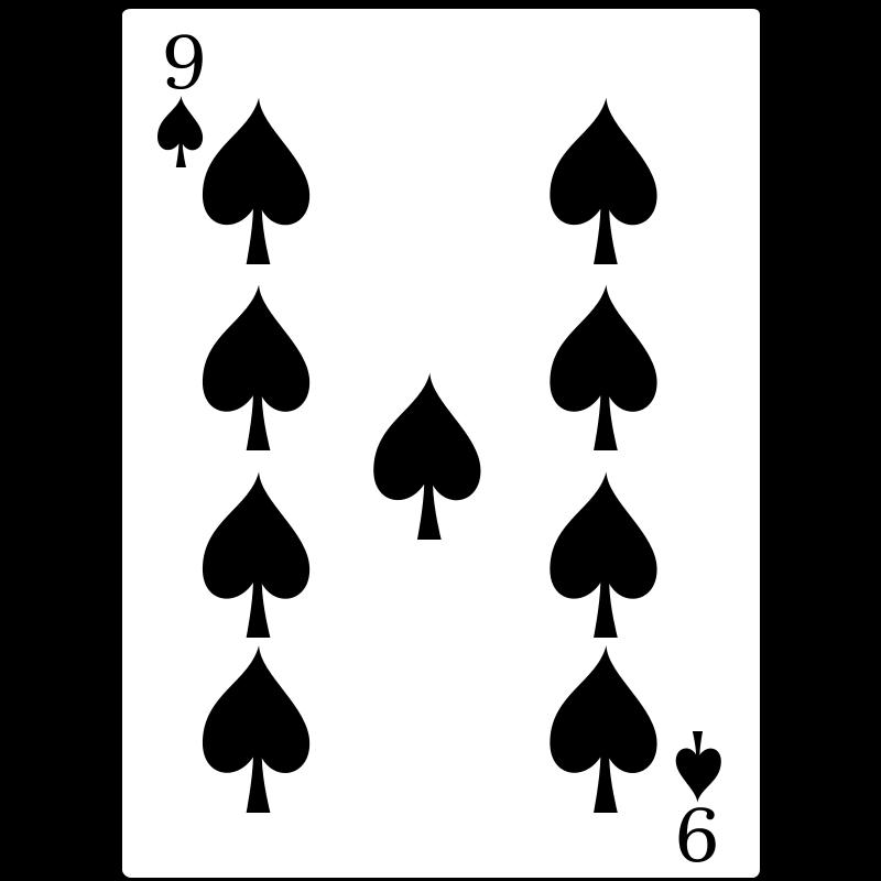 Free 9 of Spades