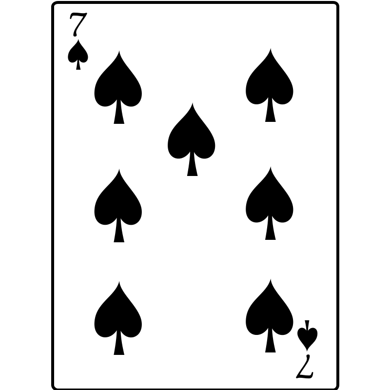Free 7 of Spades