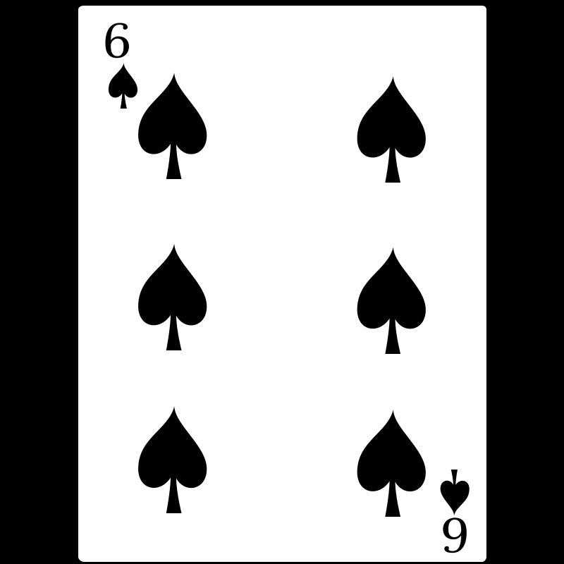 Free 6 of Spades