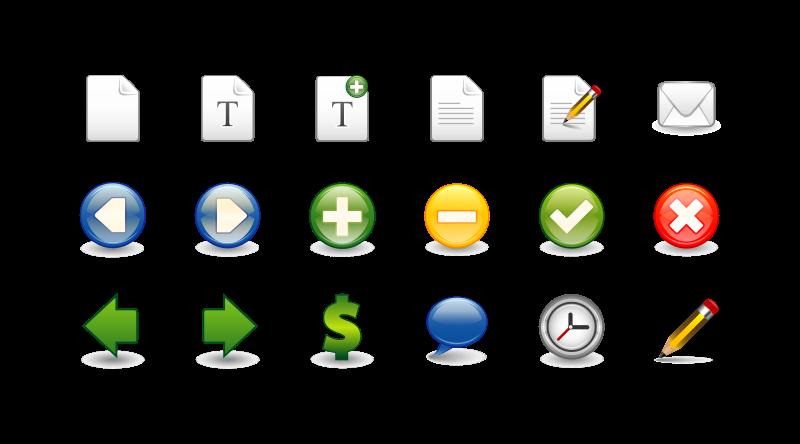 Free icon set 1