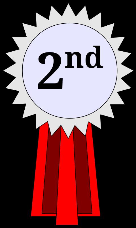 Free 2nd Place Ribbon