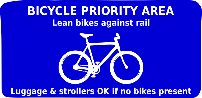 Free Bicycle Priority Area (remix)