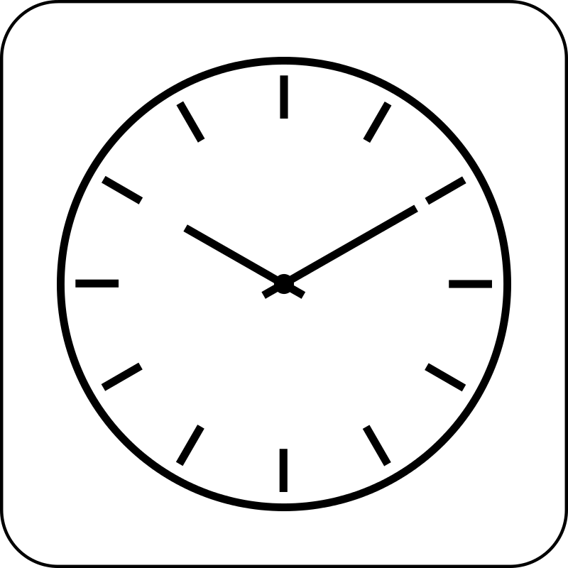 free clipart clock icon cinemacookie rh 1001freedownloads com free clock clipart free clock clipart for teachers