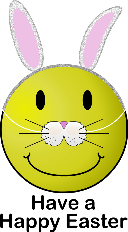 Free Easter Smiley