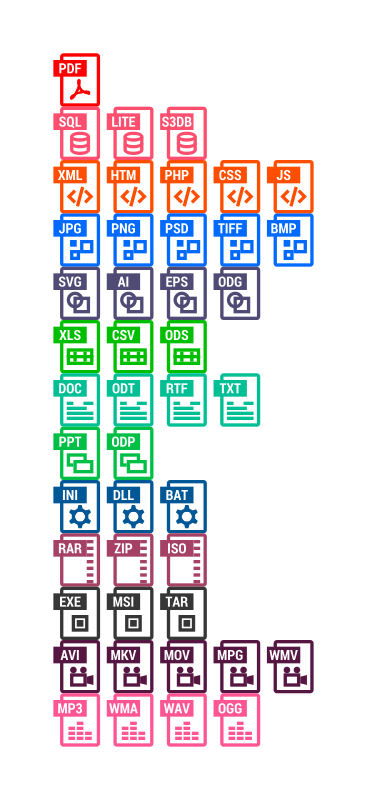 Free Windows 8-like files icons