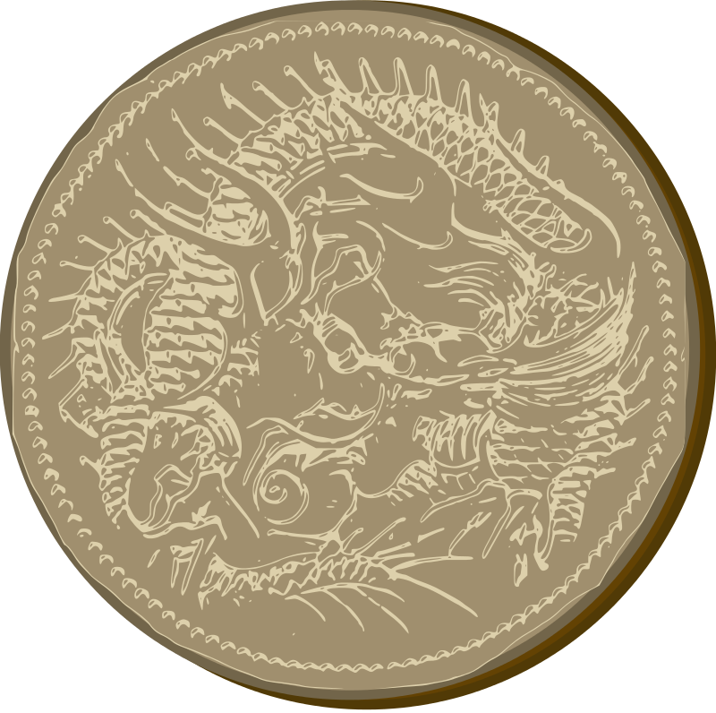 Free Old Dragon Coin
