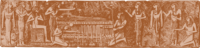 Free Egyptian Mural
