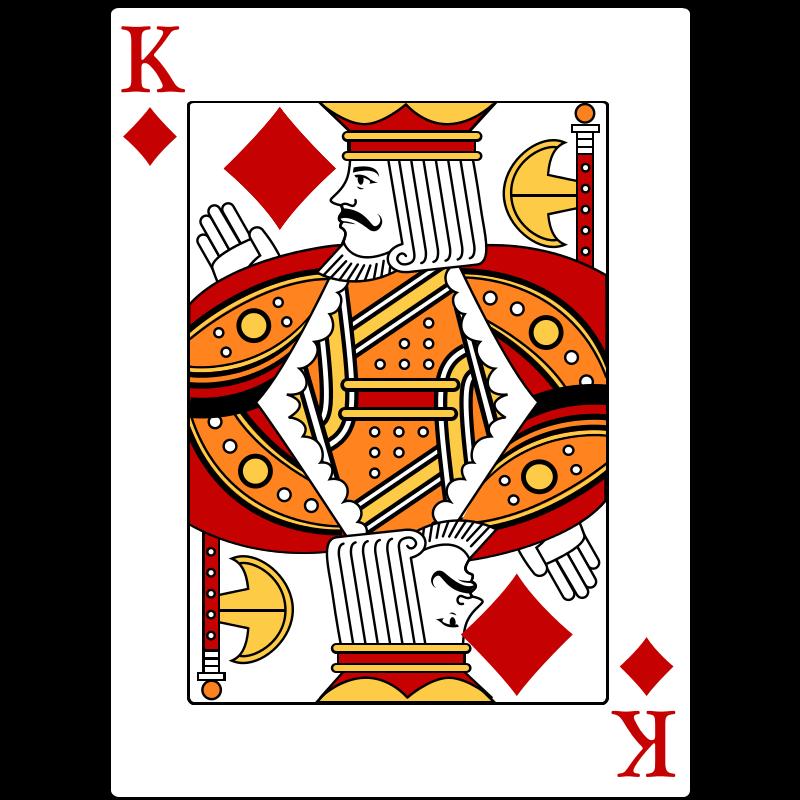 Free King of Diamonds