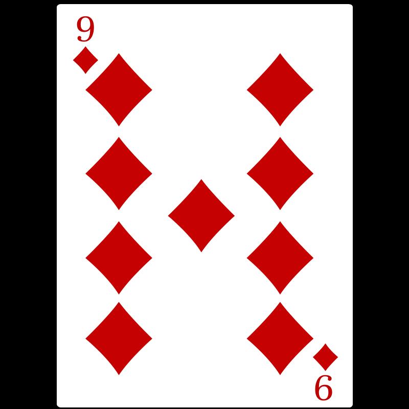 Free 9 of Diamonds