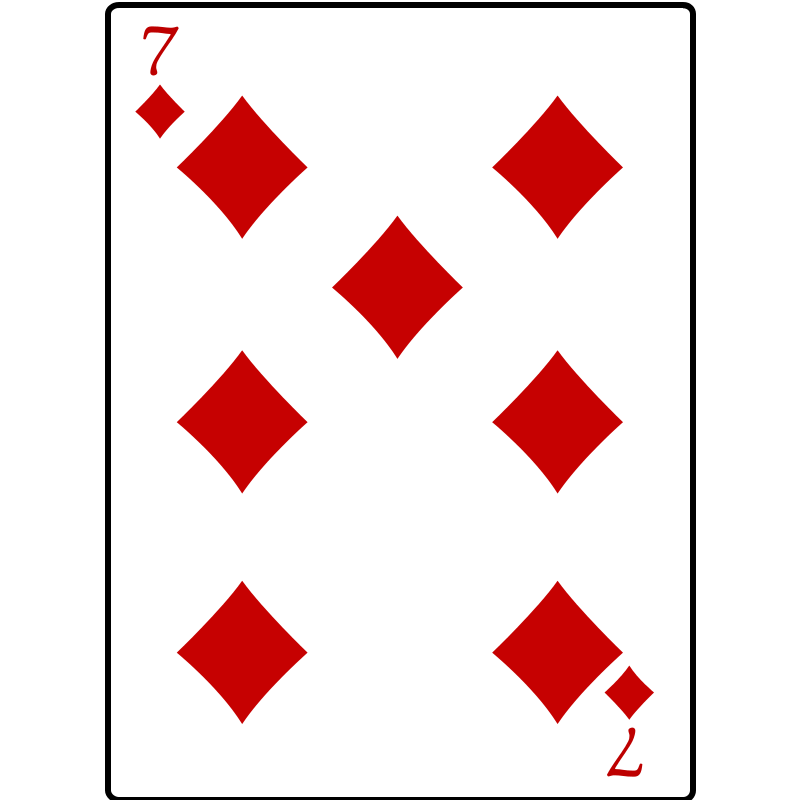 Free 7 of Diamonds