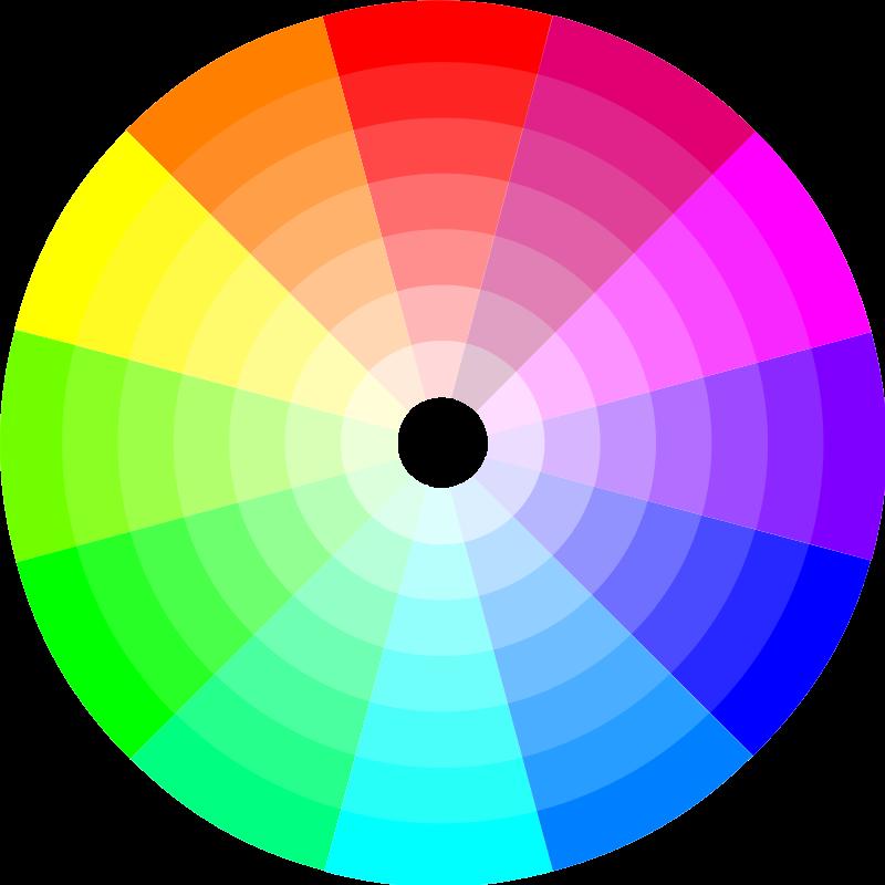 Free Color Wheel (12x7)