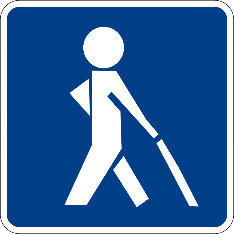 Free Clipart: Visual impairment sign | luffy86