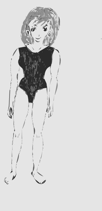 Free Manga Girl Body