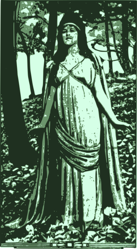 Free Lady of the Forest