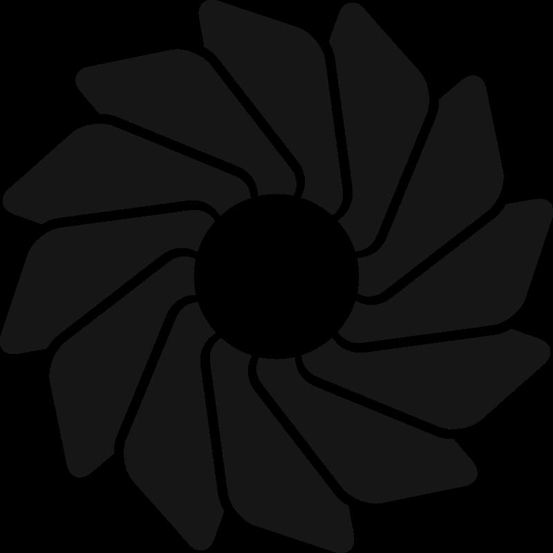Free Loading Wheel Modern Icon