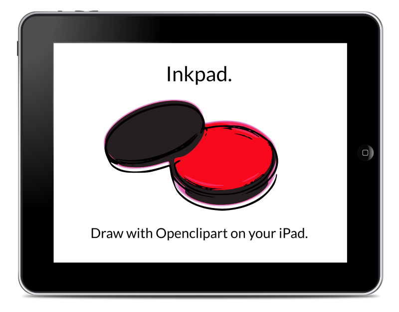 Free Draw with Openclipart on your iPad using Inkpad.