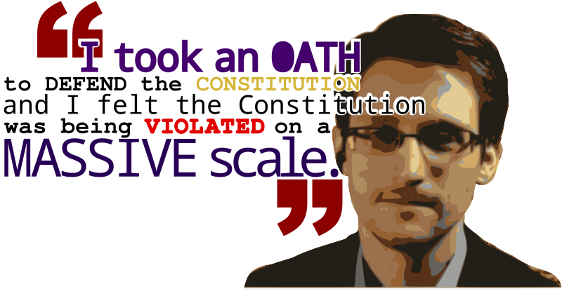 Free Snowden quote