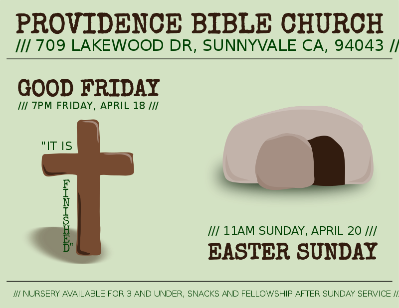 Free Clipart: Easter flyer | dear_theophilus
