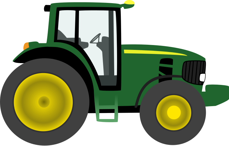 Animated John Deere Tractors And Wagon : Free clipart farm tractor tmjbeary