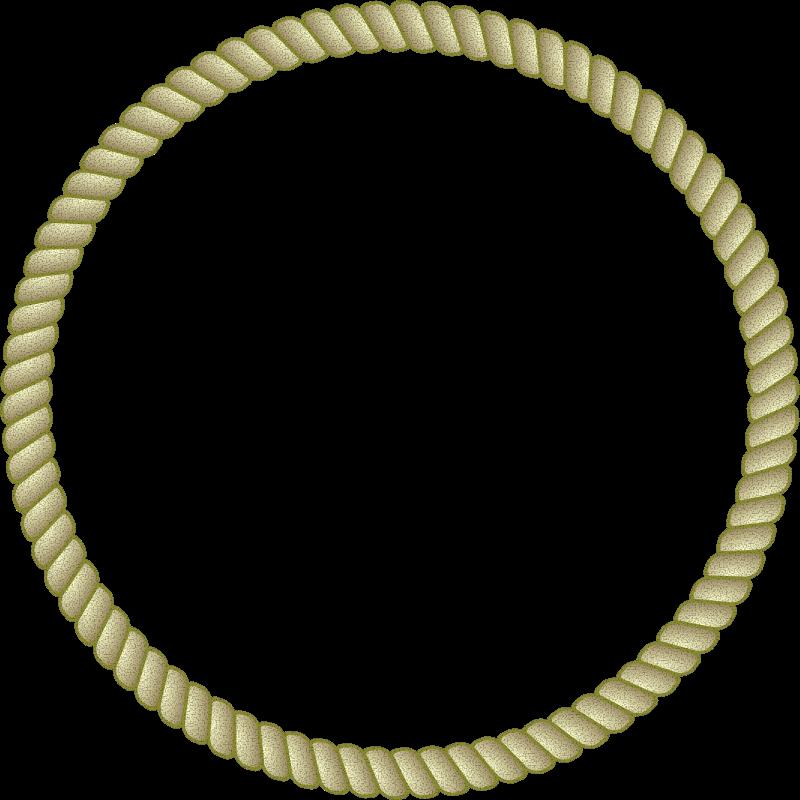 Free Round Rope Border