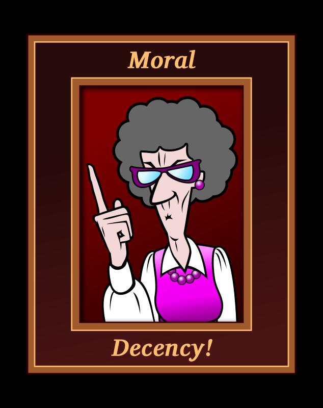 Free Moral Decency