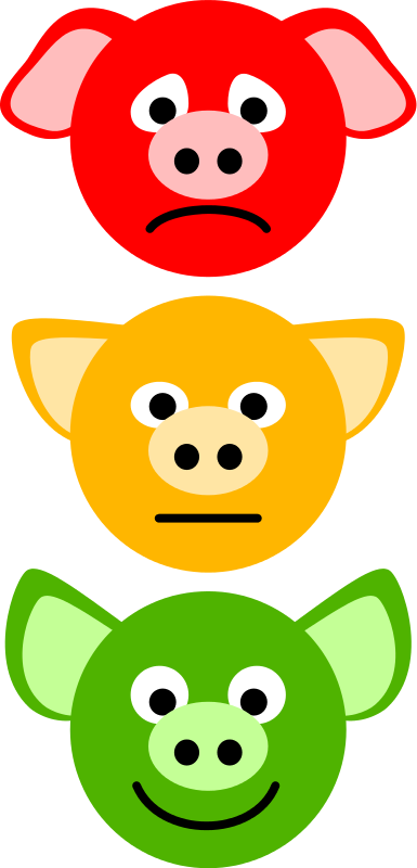 Free Pig Traffic Lights