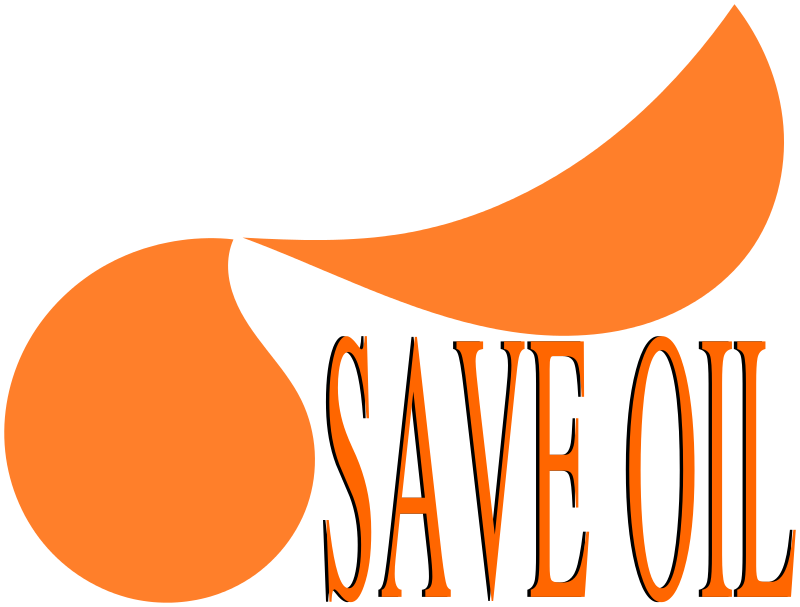 Free Save OIL - Message with logo