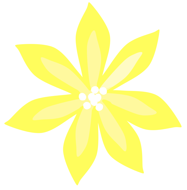 Free Yellow Lily