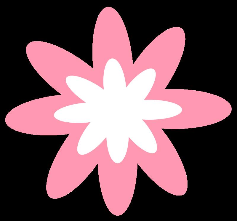 Free clipart pink burst flower scout mightylinksfo