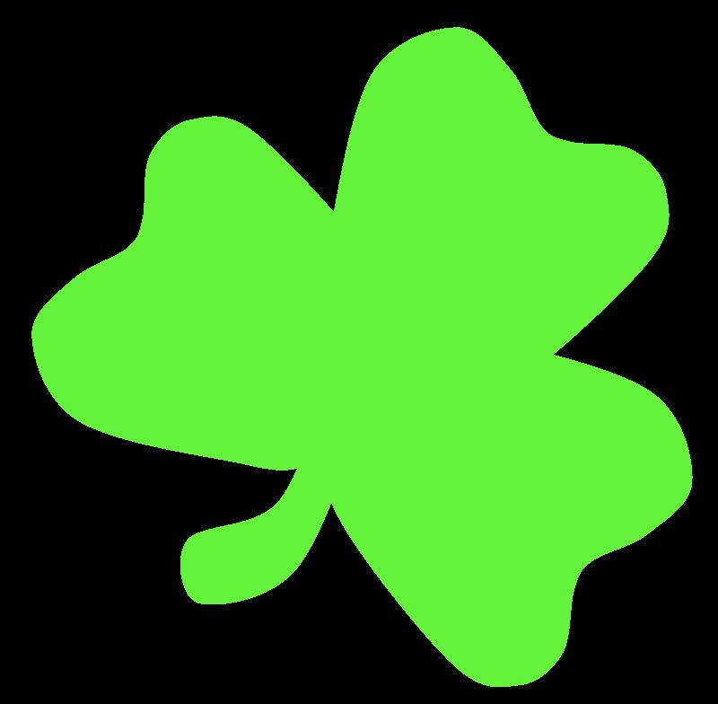 Free Light Green Shamrock