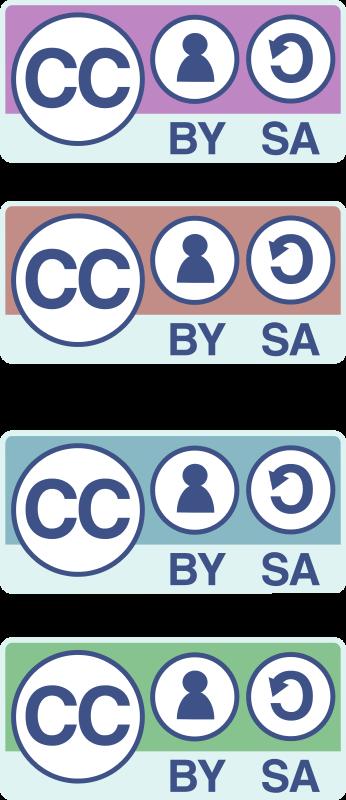 Free CC-BY-SA badges