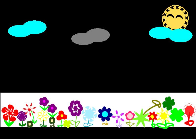 Free flower field