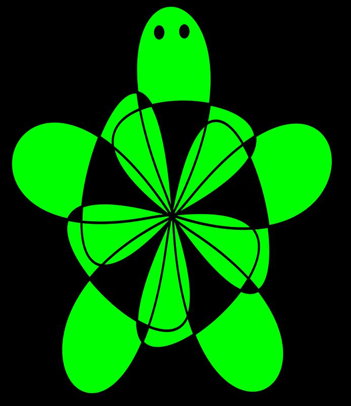Free green turtle