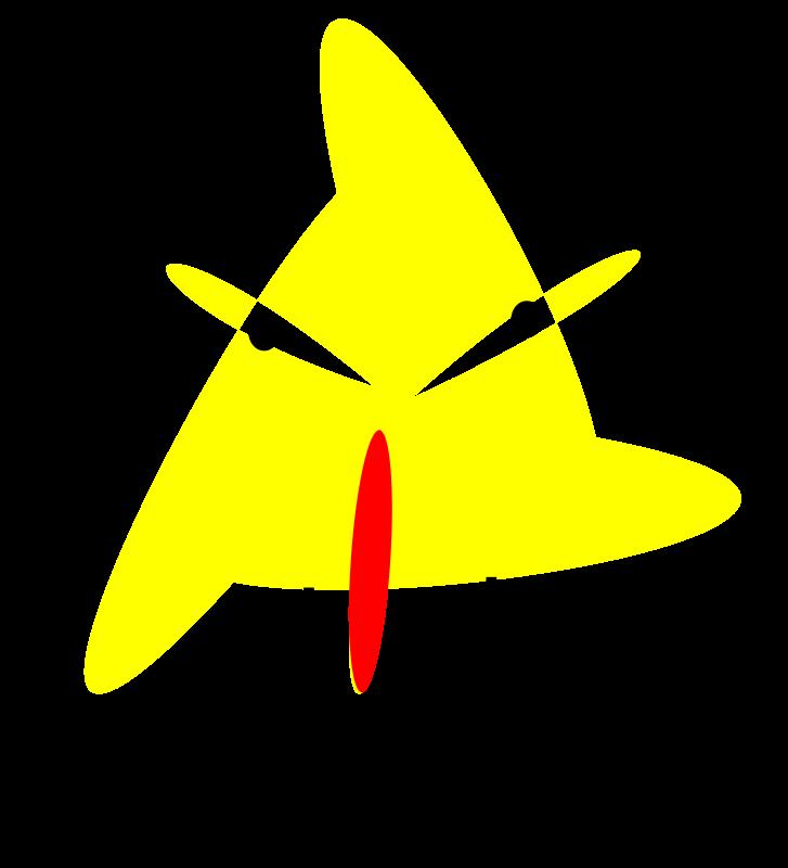 Free angry yellow bird