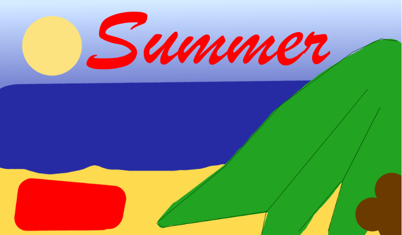 Free Clipart: Seasons of the Year: Summer | martinaledermann