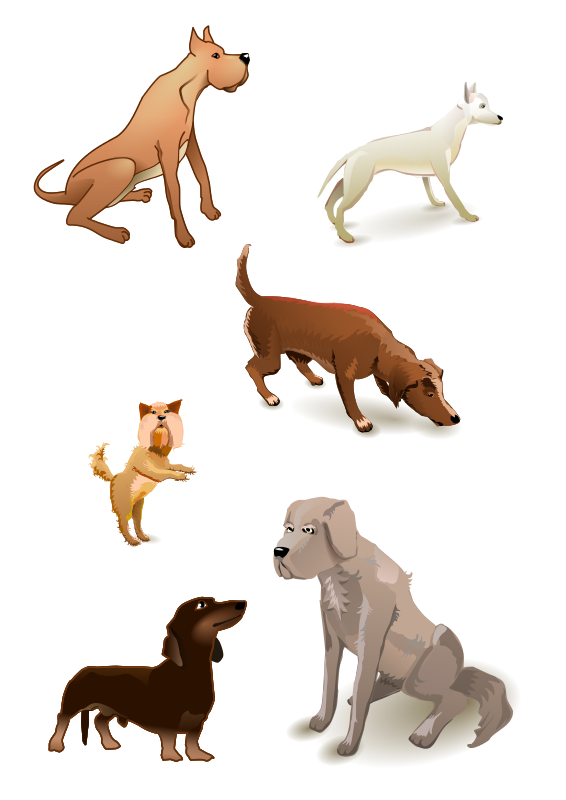 Free dogs pack