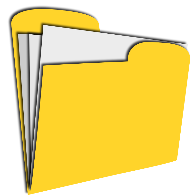 Free yellow document