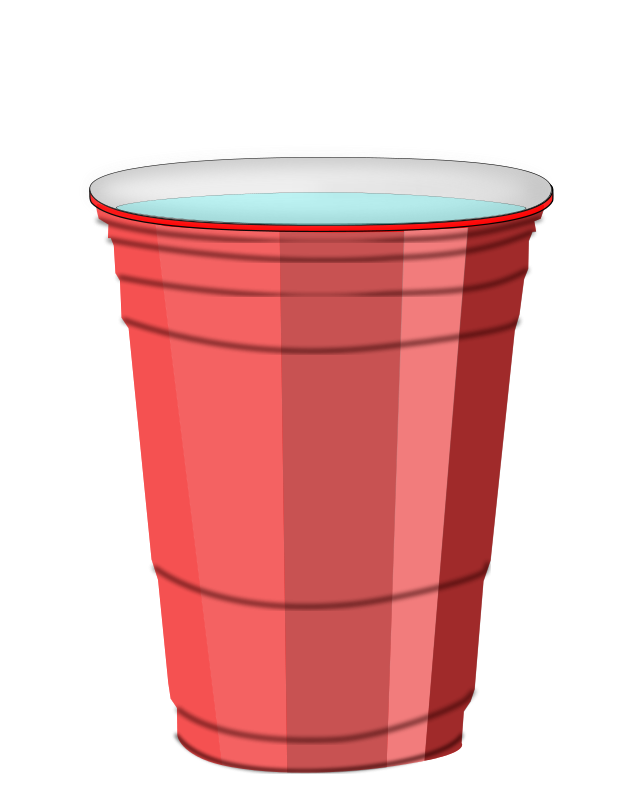 Free Plastic cup with water