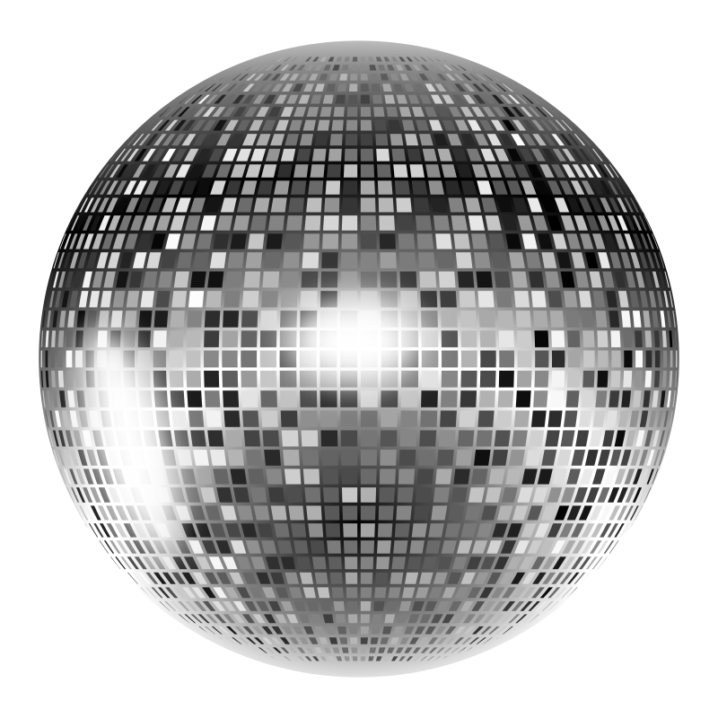 Free Clipart: Disco ball | Music | Keistutis