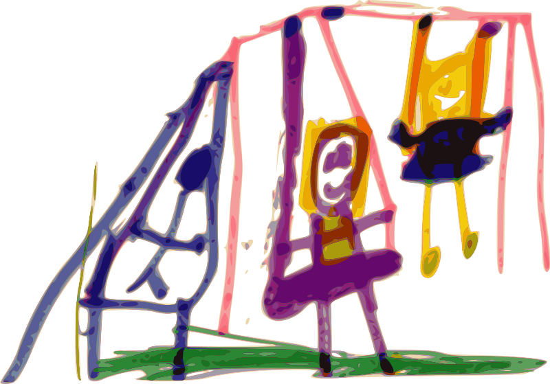 Free Kindergarten Art Swing