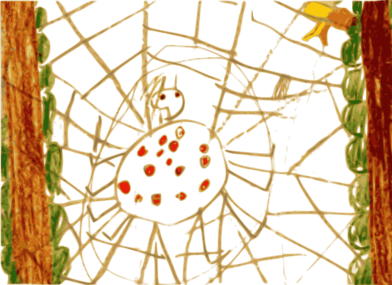Free Kindergarten Art Spider